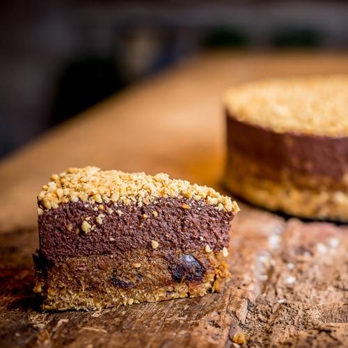 Paleo csokis mogyorómánia torta