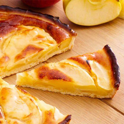 Francia normand almás pite